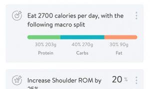 TWB Fitness Calorie Tracker