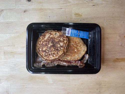 Protein Pancakes, Bacon _ Agave_