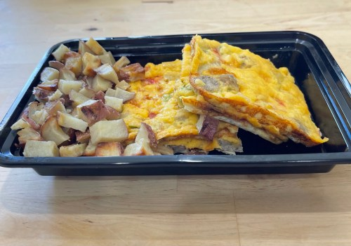 Baked Omelet and Potatoes 2