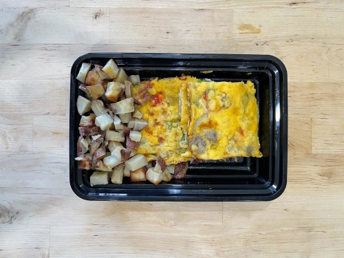 Baked Omelet and Potatoes